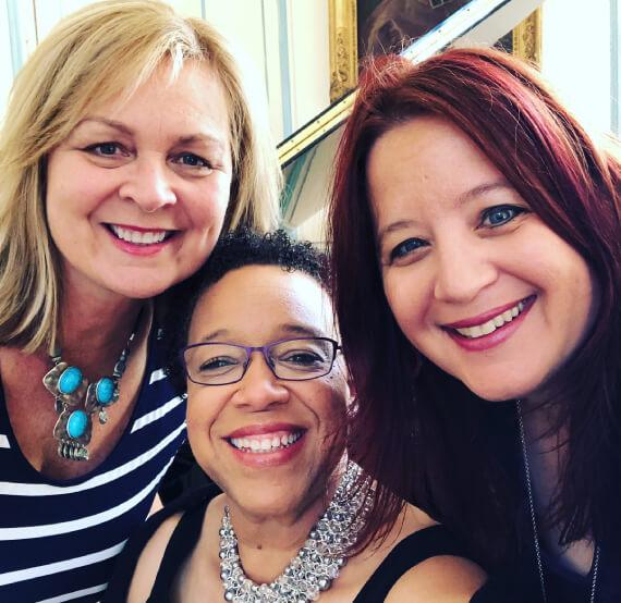Bobbi, Krysta and Michelle