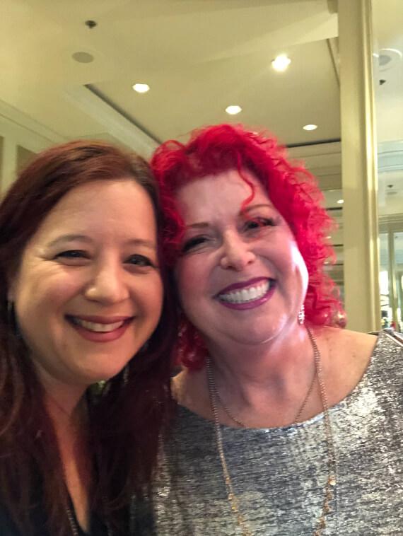 Me and Susan Bernard