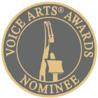Michelle Sundholm Voice Over Artist Voice Arts Awards Logo